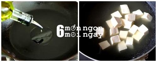 Cách nấu canh đậu hũ hẹ thanh lọc cơ thể - hình 3