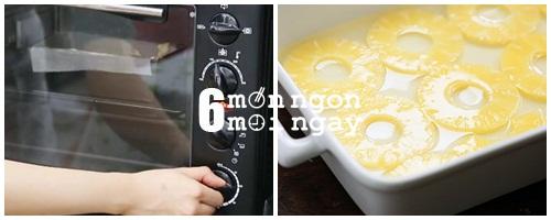 Cách làm bánh dứa phủ bơ dừa béo ngậy thơm ngon - hình 2