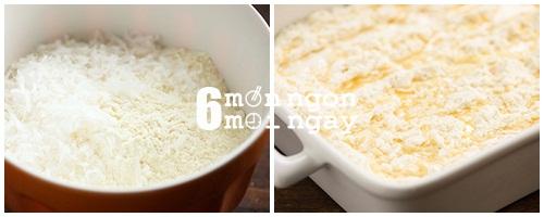 Cách làm bánh dứa phủ bơ dừa béo ngậy thơm ngon - hình 3