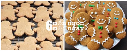 Cách làm bánh gừng cực ý nghĩa cho lễ giáng sinh - hình 6