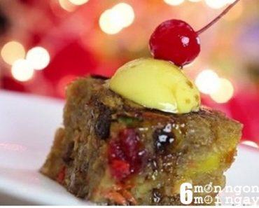 Cách làm bánh Pudding cực ngon cho mùa Giáng Sinh - hình 1