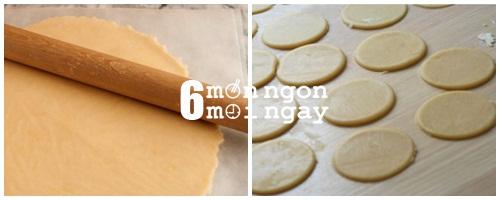 Cách làm bánh quy bơ hình thiên nga cực đáng yêu - hình 3