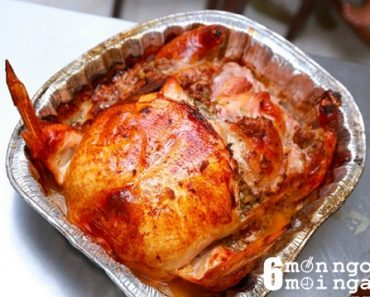 Cách làm gà tây nhồi thập cẩm ngon không kém nhà hàng - hình 1