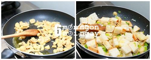 Cách làm gà tây nhồi thập cẩm ngon không kém nhà hàng - hình 5
