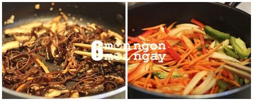 Cách làm miến trộn Hàn Quốc ngon không thể tả - hình 5