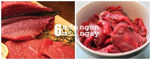 Cách làm thịt bò cuộn tôm nướng thơm ngon tới miếng cuối cùng - hình 2