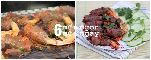 Cách làm thịt bò cuộn tôm nướng thơm ngon tới miếng cuối cùng - hình 5