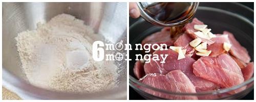 Cách làm thịt heo chiên muối đơn giản mà cực hao cơm - hình 3