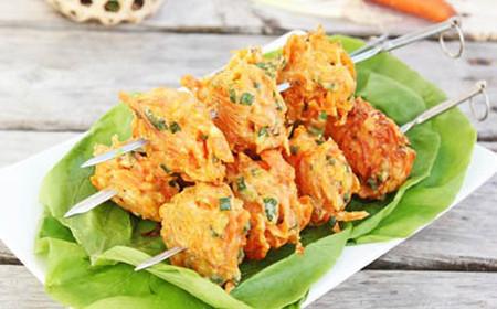 Cách làm bánh cà rốt chiên vàng ngon như đặc sản Ấn Độ -hình 1