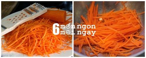 Cách làm bánh cà rốt chiên vàng ngon như đặc sản Ấn Độ -hình 2