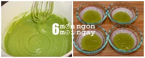 Cách làm bánh cupcake trà xanh tại nhà ngon như ở tiệm - hình 5