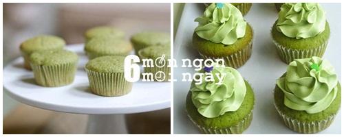 Cách làm bánh cupcake trà xanh tại nhà ngon như ở tiệm - hình 6