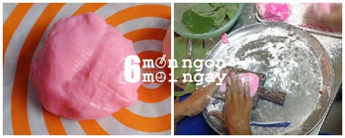 Cách làm bánh hồng đào cực xinh cho Tết thêm may mắn - hình 5