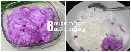 Cách làm bánh khoai mỡ chiên không nhân mà cực ngon- hình 3