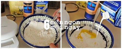 Cách làm bánh trứng sữa nướng cực ngon cho bé yêu -hình 3