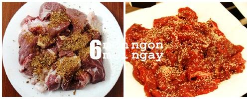 Cách làm bò nướng mè ngon không thể tả - hình 3