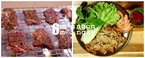 Cách làm bò nướng mè ngon không thể tả - hình 4