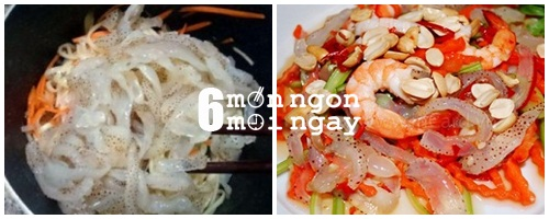 Cách làm món gỏi sứa tôm thịt đậm đà hương vị miền Trung - hình 6