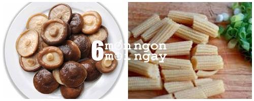Cách làm nấm kho ngô bao tử cực ngon và dinh dưỡng - hình 2