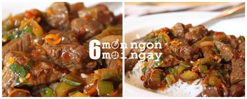 Cách làm thịt bò nấu vỏ cam nhìn thôi đã thấy thèm - hình 5
