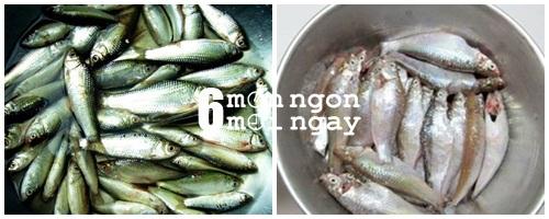 Cách nấu cá linh kho tiêu cực hao cơm - hình 2