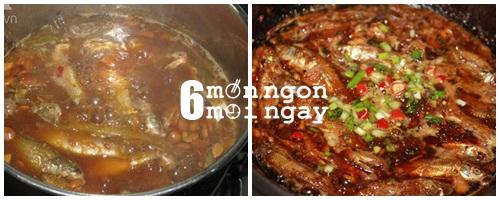 Cách nấu cá linh kho tiêu cực hao cơm - hình 4
