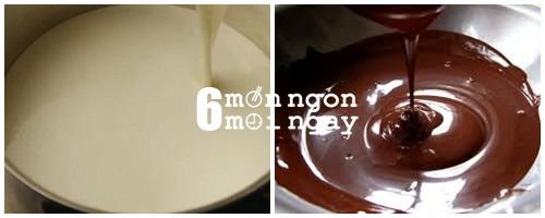 Cách làm bánh chocolate dâu siêu ngon mà không cần lò nướng -hình 4