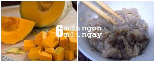 Cách làm canh bí đỏ nấu tôm ngon đúng điệu-hình 2