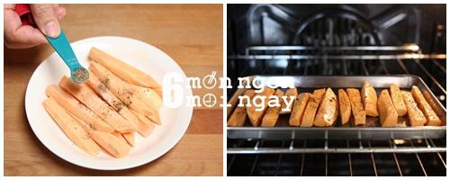 Cách làm khoai lang nướng tiêu ngon ngất ngây - hình 4