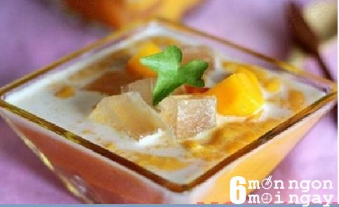 Cách làm món chè nha đam trái cây vừa ngon vừa đẹp da-hình 1