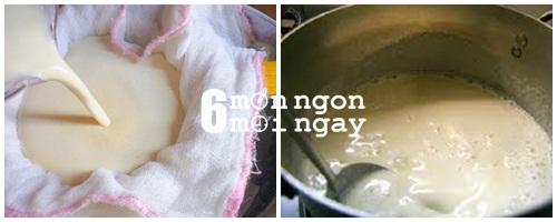 Cách làm món tào phớ không dùng thạch cao mà vẫn thơm ngon -hình 3