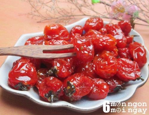 Cách làm mứt cà chua bi thơm ngon cho tết thêm may mắn - hình 1