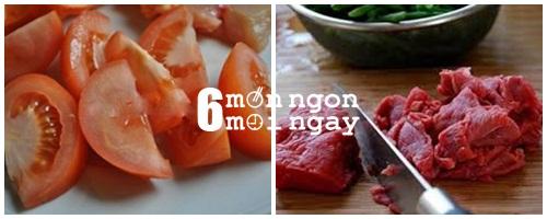 Cách nấu canh thịt bò cà chua cực tốt cho người thiếu máu - hình 2