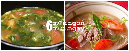 Cách nấu canh thịt bò cà chua cực tốt cho người thiếu máu - hình 4