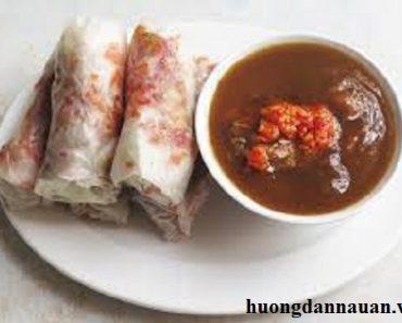 Cách chế biến bò bía mặn ngon nhất theo phong cách Sài Gòn