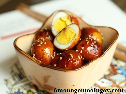 Cách nấu trứng cút om nước tương cực ngon và nhiều dinh dưỡng