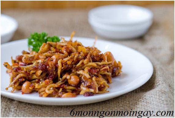 Cách lam cá cơm kho khô kiểu Hàn Quốc ngon cơm cho buổi chiều mát mẻ