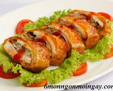 Cách làm món vịt quay Bắc Kinh chay thơm ngon thay đổi khẩu vị