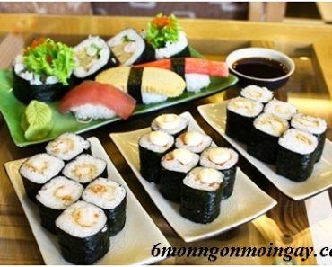 Cách làm sushi chay đơn giản bằng nguyên liệu từ rau củ ngon vô cùng