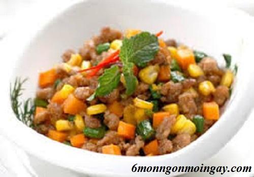 Cách làm thịt xay kho bắp đậu ngon bồi bổ cơ thể cho trẻ lười ăn