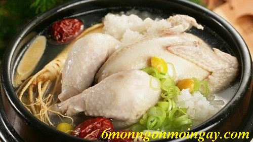 Cách làm gà tần nhân sâm thơm ngon bổ dưỡng bồi bổ sức khỏe mọi người