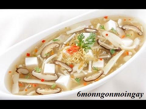 Cách nấu súp chua cay chay nóng hổi thơm ngon vừa thổi vừa ăn
