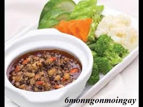 Cách làm mắm kho quẹt đơn giản với tôm khô tóp mỡ thơm ngon dùng chấm rau luộc phần 1
