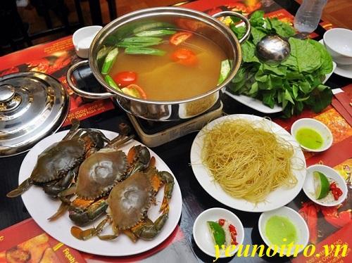 Cách nấu lẩu cua biển chua cay ngon nhất quả đất