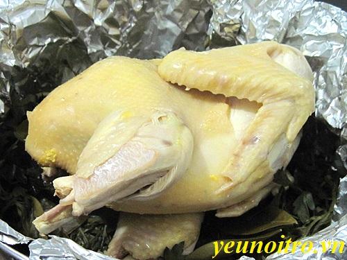 Cách làm gà hấp muối hột kiểu người Hoa đơn giản ai ăn cũng ghiền phần 1