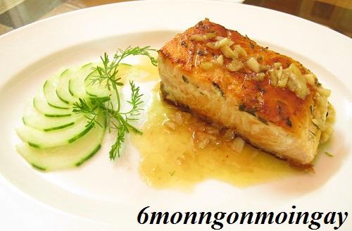 Cách làm món cá hồi nướng độc nhất vô nhị không ăn hơi phí phần 1