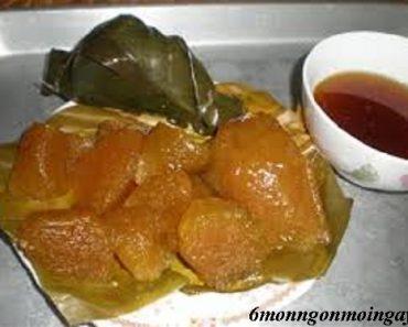 Cách làm bánh tro bột nếp lá dong truyền thống thơm ngon hấp dẫn vô cùng