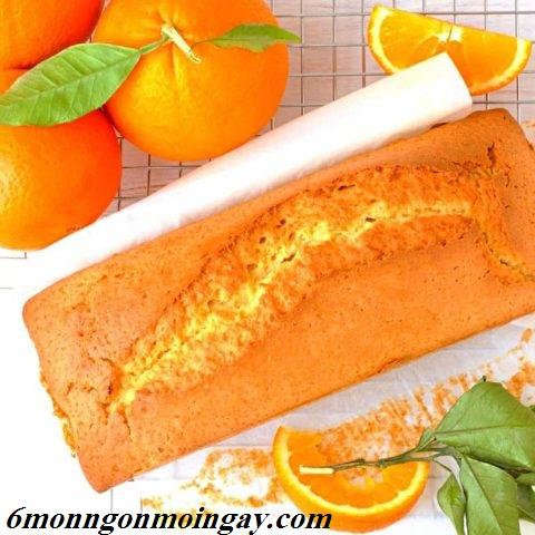 Cách làm bánh bông lan hương vị cam đặc biệt thơm ngon