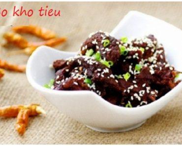 Cách làm món thịt bò kho tiêu đơn giản thơm ngon ngay tại nhà hình 1