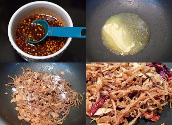 Cách làm mực xào bơ tỏi hình 3
